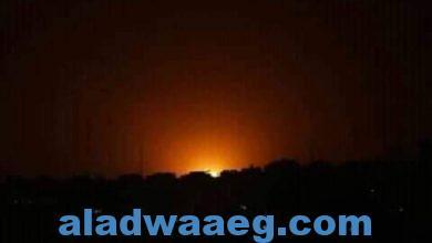 صورة طائرات إسرائيلية تغير على عدة مواقع في قطاع غزة
