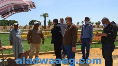 صورة اعمال اصلاح كسر خط مياه الشرب بحي السويس