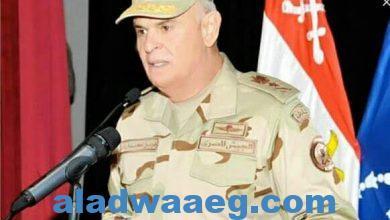 صورة رئيس أركان حرب القوات المسلحة يشهد مشروع مراكز قيادة خارجى (إعصار62)