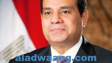 صورة محافظ الفيوم يهنئ الرئيس السيسي بالذكرى الـ 39 لتحرير سيناء