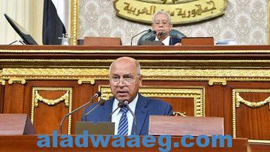 صورة كلمة الفريق مهندس كامل الوزير وزير النقل أمام مجلس النواب