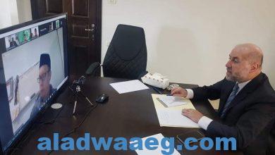 صورة قاضي القضاة يطلع مجلس العلماء الإسلامي الاندونيسي على آخر تطورات القضية الفلسطينية