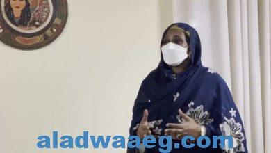 صورة وزيرة الخارجية تؤكد حرص الحكومة على الاستجابة لمبادرة الكونغو