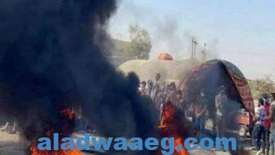 صورة محتجون يغلقون جسورا وشركة نفطية جنوبي العراق