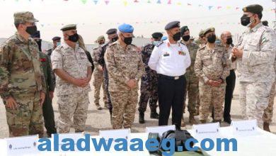 صورة الجيش الأردني يتسلم أجهزة ومعدات من الوكالة الامريكية