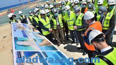 صورة بيان صادر عن وزارة الكهرباء والطاقة المتجددة  حول زيارة الوزير لموقع الضبعة