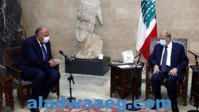 صورة وزير الخارجية يجري عدة لقاءات متنوعه مع كبار المسؤولين بلبنان