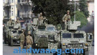 صورة انطلاق حملة التلقيح ضد كورونا في المؤسسة العسكرية اللبنانية