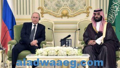 """صورة الكرملين: الرئيس الروسي بحث مع ولي العهد السعودي قضية """"أوبك+"""""""