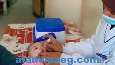 صورة وزيرة الصحة تعلن مد فترة الحملة القومية الثانية للتطعيم ضد مرض شلل الأطفال حتى غداً الجمعة 2 إبريل