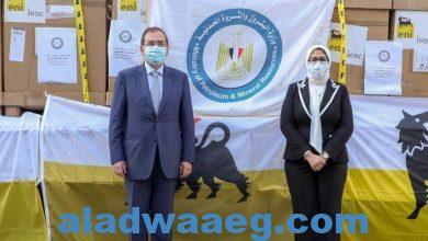 صورة وزيرة الصحة تستقبل وزير البترول لبحث سبل التعاون في مواجهة جائحة فيروس كورونا المستجد