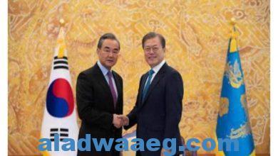 صورة وزير الخارجية الكوري الجنوبي: التعاون مع الصين مهم في عملية السلام الكورية