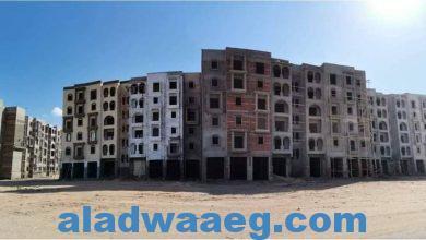 صورة وزير الإسكان: الانتهاء من الهيكل الخرساني وبدء التشطيبات بعمارات الإسكان الساحلي المميز بمدينة رشيد الجديدة
