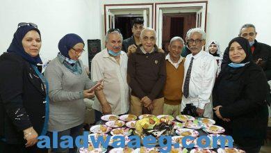 صورة احتفال جمعية انصار بعيد ميلاد المخرج الكبير محمد الشال