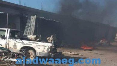 صورة قتيل و4 جرحى بتفجير في ريف الرقة السورية