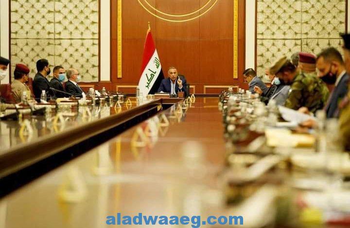 مصطفى الكاظمي يترأس اجتماعا أمنيا موسعا لقيادات الأجهزة الأمنية