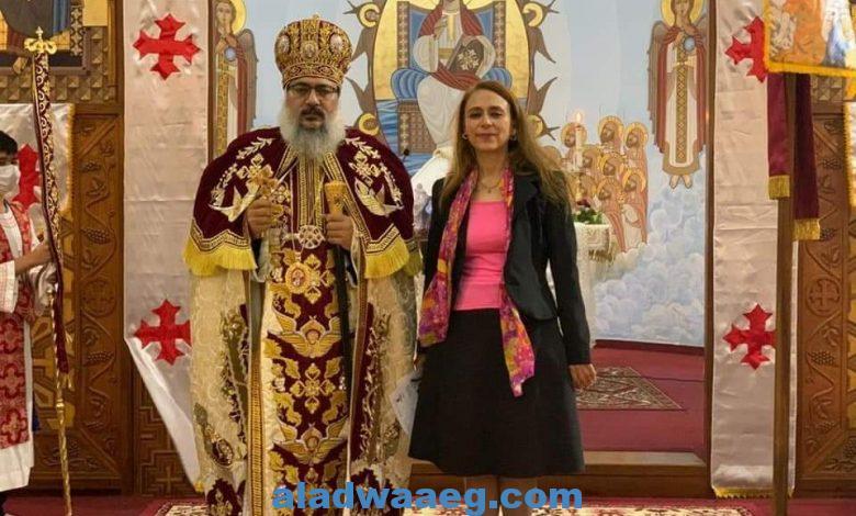 سفيرة مصر لدى بوليفيا تنقل تهنئة السيد رئيس الجمهورية بمناسبة عيد القيامة المجيد