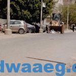رفع ١٠٠ طن من المخلفات الصلبة بقرى تلة ونزلة حسين وطوخ الخيل صباح اليوم