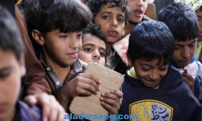 """الحوثيون يتهمون """"اليونيسف"""" بـ""""توزيع حقائب مدرسية عليها خرائط تعترف بإسرائيل بدلا عن فلسطين"""