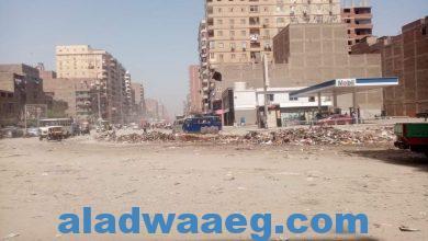 صورة حمله نظافه الصباحيه بحي شرق شبرا الخيمه