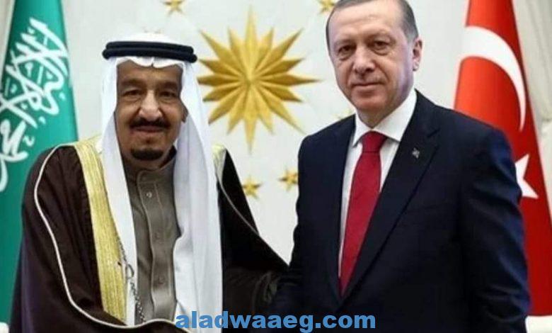 مناقشه العلاقات الثنائية في إتصال أردوغان وسليمان