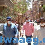 تحرير 20 مخالفة لعدم التزام المواطنين بارتداء الكمامات بمركز سمالوط بالمنيا