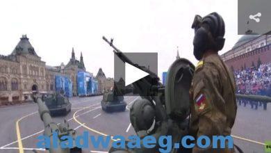 صورة 200 آلية عسكرية تشارك بالعرض العسكري