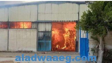 صورة عاجل.. حريق هائل في محطة فاكهة بالمنوفية والدفع بـ9 سيارات إطفاء