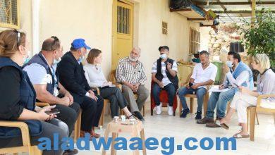 صورة قصة عن لاجئي فلسطين القاطنين في وادي الحصين