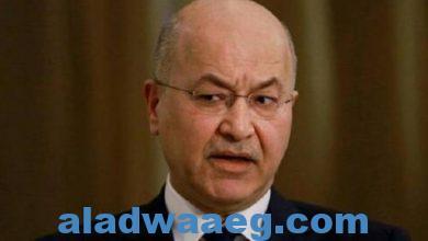 صورة الرئيس العراقي يلمح إلى الجيش التركي: يقوم بممارسات غير إنسانية