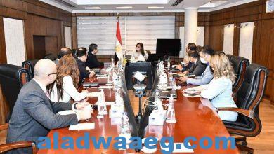صورة وزيرة التخطيط والتنمية الاقتصادية تلتقي بالرئيس التنفيذي للمؤسسة الإسلامية لتنمية القطاع الخاص لبحث تدعيم روابط التعاون