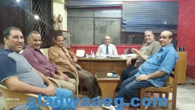 صورة لقاء مفتوح مع المستشار خالد شندي