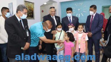 صورة حماة وطن يكرم مبادرة اطمن علي نفسك الكشف المجاني بمستشفي بدايات،،