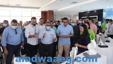 صورة وزير التعليم العالي ورؤساء الجامعات يتفقدون جامعة الجلالة،،،