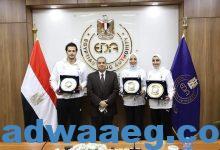 صورة هيئة الدواء المصرية تكرم أبطال مصر بأولمبياد طوكيو ٢٠٢٠…….
