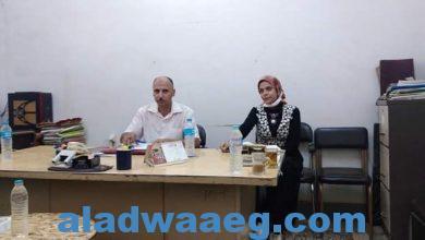 صورة وكيل زراعة الفيوم يشهد اجتماع اللجنة التنسيقية للحملة القومية لمحصول الذرة الشامية…