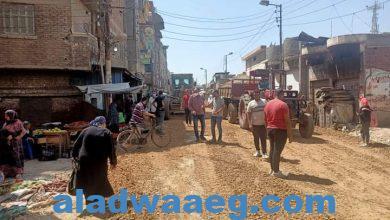 صورة مغاوري يتفقد شوارع حي ثان المحله الكبري
