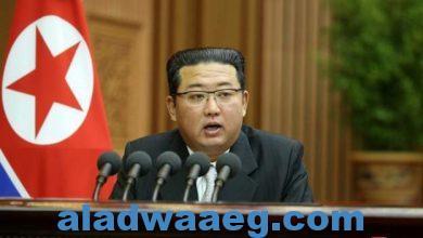 """صورة زعيم كوريا الشمالية يرفض عرضا أمريكيا بإجراء محادثات واصفا الدعوة بأنها للتغطية على """"أعمال أمريكا العدائية"""