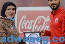 صورة أسماء شعيب.. رسامة الاهلي.. تبدع في عشق الفريق….