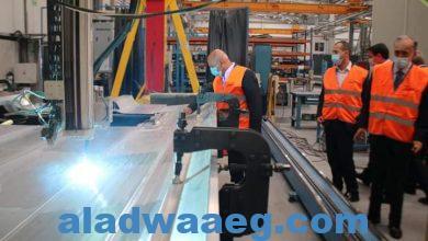 صورة وزير النقل يتفقد مراحل تصنيع عدد 6 قطارات تالجو متعاقد عليها لصالح هيئة السكك الحديدية بمصانع الشركة بشمال إسبانيا.