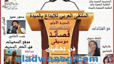 صورة الملتقى العربي للإبداع بالميدة ولاية نابل ..