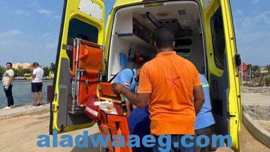 صورة الصحة: إصابة ١٤ مواطناً باختناقات في حريق محدود بإحدى قاعات مهرجان الجونة بالبحر الأحمر.