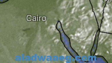 صورة والرياح معتدلة تنشط على شمال الصعيد وجنوب سيناء
