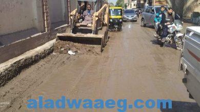 صورة واصلت الوحدة المحلية بسقارةجهودها لشفط مياه الامطار بالطرق الرئيسية