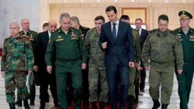 صورة مقترح لتشكيل مجلس عسكري يضم مختلف الأطراف في سوريا