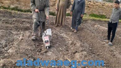 صورة وكيل زراعة الفيوم يشدد على زراعة الحقول الإرشادية لمحصول القطن موسم ٢٠٢١ بجميع المراكز