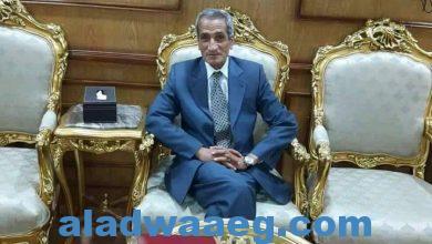 """صورة الصحفي محمود الحسيني يهنئ الدكتور """" طلعت السروجي """" بعيد ميلاده السعيد"""