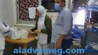 صورة زيارات ميدانية لتفقد قسم عزل كورونا بمستشفى السويس العام