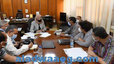 صورة السكرتير العام المساعد تعقد اجتماع لمتابعة الموقف التنفيذي لإحلال وتجديد مجمع الصناعات الصغيرة بقنا
