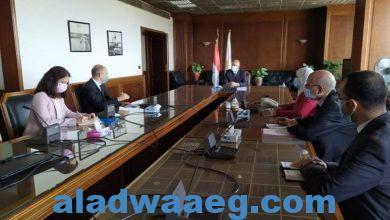 صورة الدكتور عبد العاطي يبحث مع سفير المجر موقف التعاون بين البلدين في مجال المياه